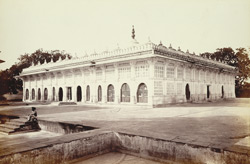 General view of Shaikh Ahmad Ganj Baksh's Tomb at Sarkhej, near Ahmadabad 1771